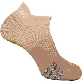 Salomon Predict Lave sokker, beige/brun